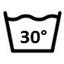 Temperatura máxima de lavado 30°